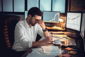 caídas en el negocio